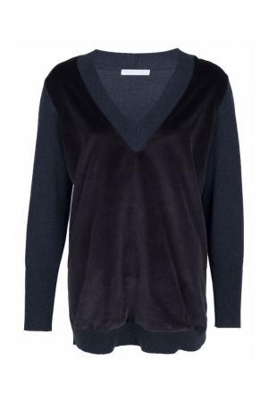 Пуловер FABIANA FILIPPI. Цвет: черный