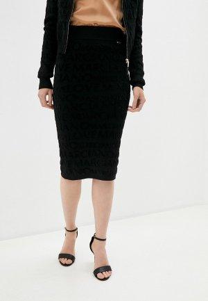 Юбка Marciano Los Angeles. Цвет: черный