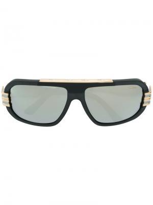 Солнцезащитные очки в крупной оправе Cazal. Цвет: черный