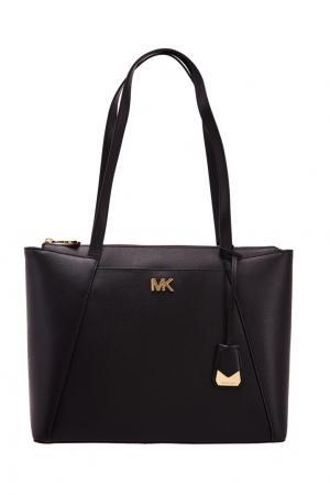 Черная сумка Maddie Michael Kors. Цвет: черный