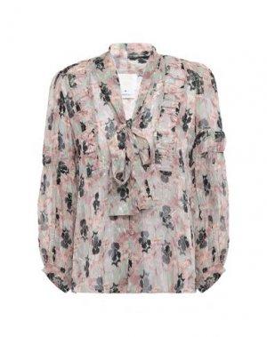 Pубашка ANNA SUI. Цвет: розовый
