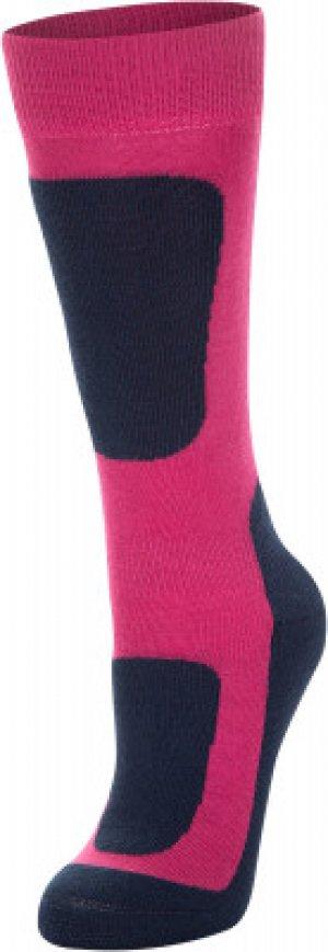 Носки для девочек , размер 31-33 Glissade. Цвет: розовый
