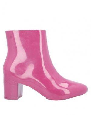 Полусапоги и высокие ботинки MELISSA. Цвет: фиолетовый
