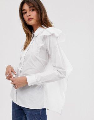 Рубашка с открытой спиной и завязкой 2NDDAY-Белый 2nd Day