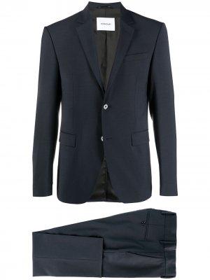 Костюм-двойка с однобортным пиджаком Dondup. Цвет: синий