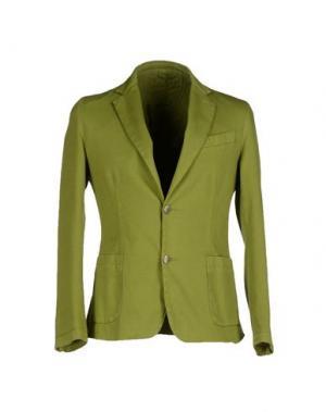 Пиджак ITALIANS GENTLEMEN. Цвет: кислотно-зеленый