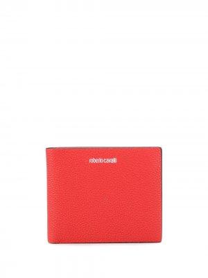 Бумажник с логотипом Roberto Cavalli. Цвет: красный