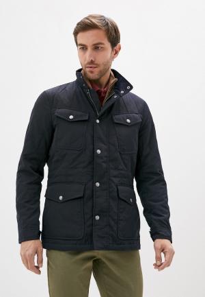 Куртка утепленная Hackett London. Цвет: синий