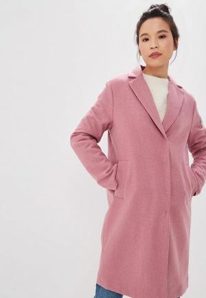 Пальто Baon. Цвет: розовый