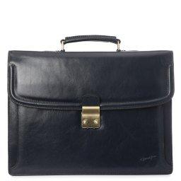 Портфель RU12738 черно-синий GERARD HENON