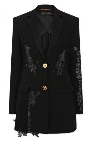 Жакет Versace. Цвет: черный
