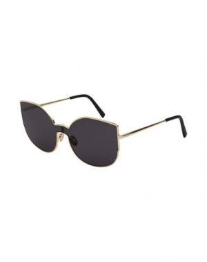 Солнечные очки SUPER by RETROSUPERFUTURE. Цвет: золотистый