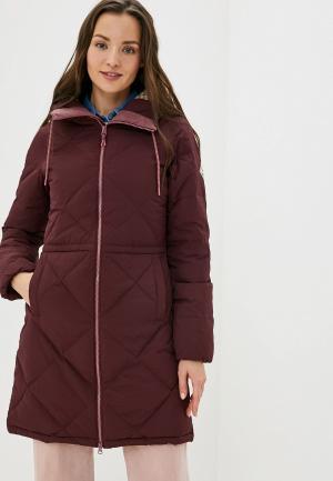 Куртка утепленная Burton W CHESCOTT DWN JK. Цвет: бордовый