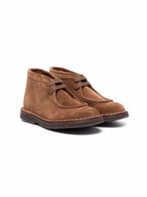 Туфли Dani на шнуровке Pèpè. Цвет: коричневый