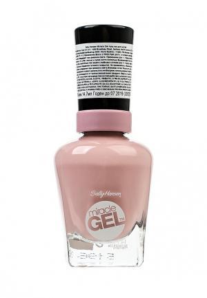 Гель-лак для ногтей Sally Hansen Miracle Gel, Тон 160 pinky promise. Цвет: розовый
