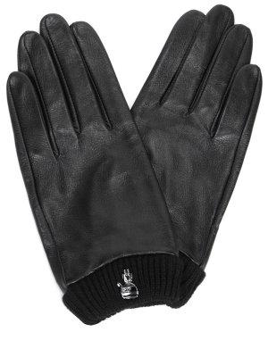 Перчатки из искусственной кожи KARL LAGERFELD