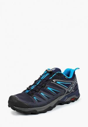 Ботинки трекинговые Salomon X ULTRA 3 GTX®. Цвет: синий