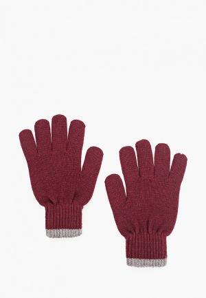 Перчатки Mango Man PE LLIS. Цвет: бордовый