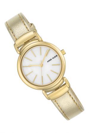 Часы наручные Anne Klein. Цвет: золотой, белый