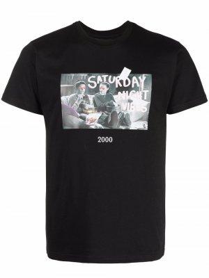 Graphic-print short-sleeve T-shirt Throwback.. Цвет: черный