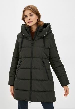 Куртка утепленная Betty Barclay. Цвет: хаки
