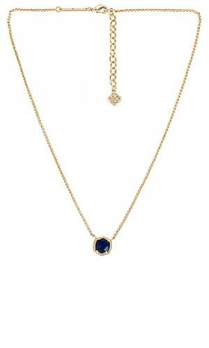 Ожерелье davie Kendra Scott. Цвет: металлический золотой
