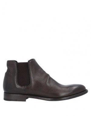 Полусапоги и высокие ботинки ALBERTO FASCIANI. Цвет: темно-коричневый