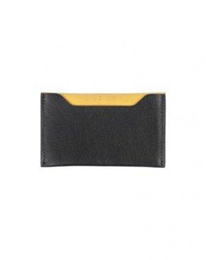 Чехол для документов ORCIANI. Цвет: желтый