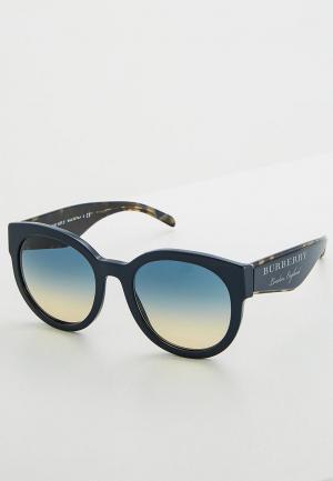 Очки солнцезащитные Burberry BE4260 369079. Цвет: синий
