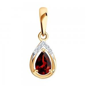 Подвеска из золота SOKOLOV Diamonds