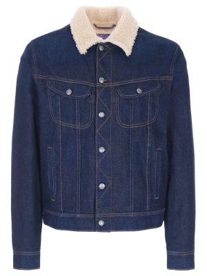 Куртка джинсовая с меховой подкладкой RALPH LAUREN