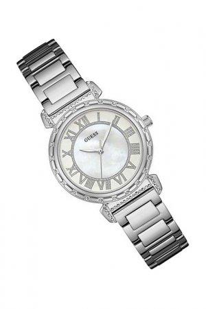 Наручные часы Guess. Цвет: перламутровый, белый