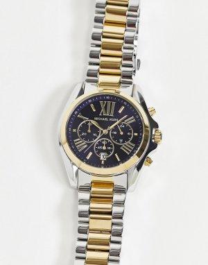 Часы с ремешком-браслетом из комбинированных металлов Bradshaw MK5976-Многоцветный Michael Kors