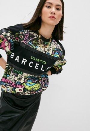 Свитшот Custo Barcelona. Цвет: разноцветный