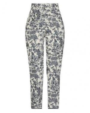 Повседневные брюки LA FABRIQUE. Цвет: слоновая кость