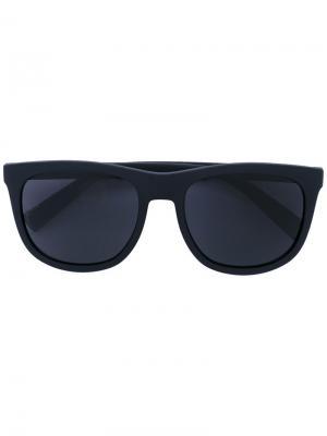 Солнцезащитные очки в прямоугольной оправе Dolce & Gabbana Eyewear. Цвет: чёрный