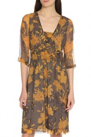 Платье Etro. Цвет: оранжевый
