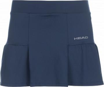 Юбка-шорты женская Club Basic, размер 42-44 Head. Цвет: синий