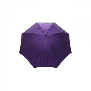 Зонт-трость Pasotti Ombrelli. Цвет: фиолетовый
