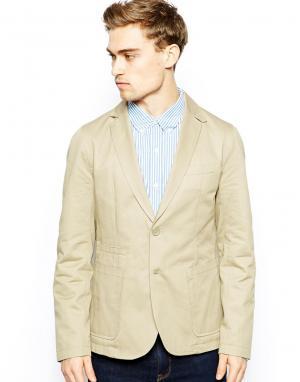 Куртка-блейзер Cobalt French Connection. Цвет: бежевый