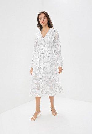 Платье EMI. Цвет: белый