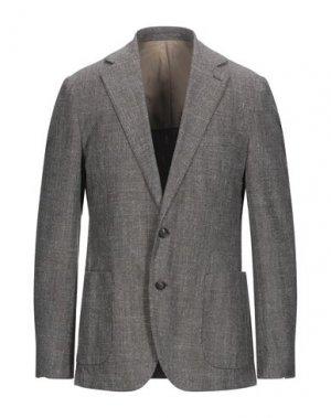 Пиджак ROŸ ROGER'S. Цвет: темно-коричневый