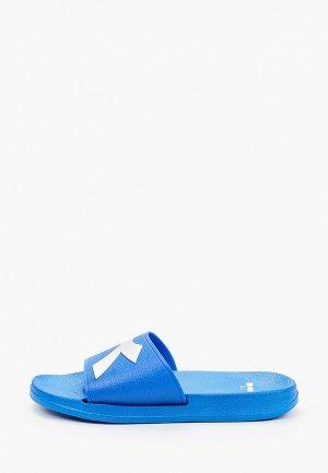 Сланцы Diadora CRAWL. Цвет: синий