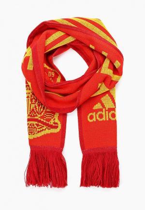 Шарф adidas FEF HOME SCARF. Цвет: красный