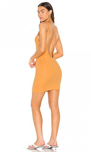 Платье-майка verona COTTON CITIZEN. Цвет: оранжевый