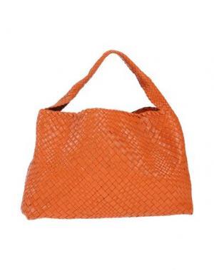 Сумка на руку GHIBLI. Цвет: оранжевый