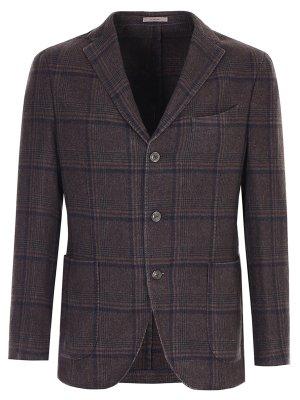 Пиджак из кашемира и шерсти BOGLIOLI
