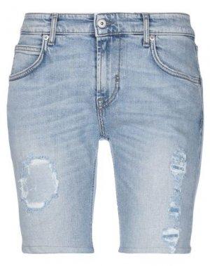 Джинсовые шорты P.A.R.O.S.H.. Цвет: синий