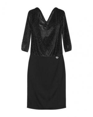 Платье до колена EAN 13. Цвет: черный