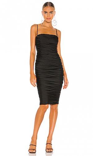 Платье миди cooper Nookie. Цвет: черный
